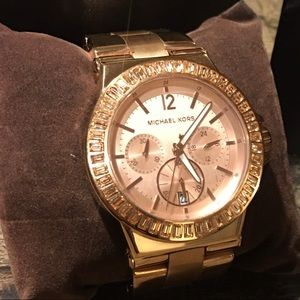 Michael Kors Women's Rose Gold Watch